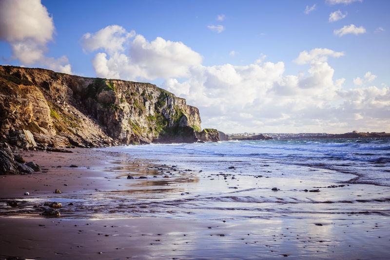 Newquay Watergate Bay Beach Cornwall Scenics Sea Sky