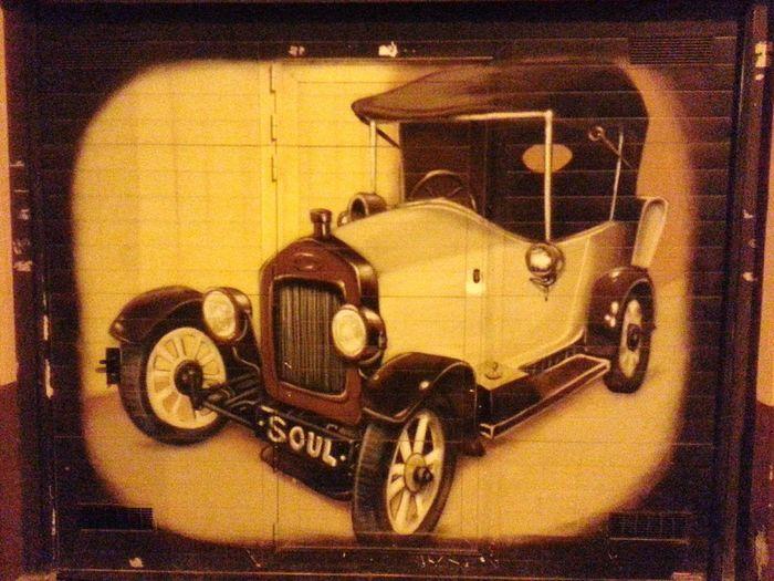 City soul Graffiti Art Soul Car