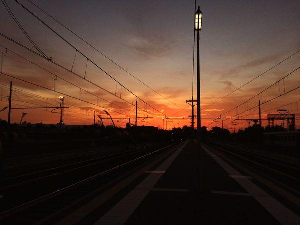 Sunset Train Station Train Station