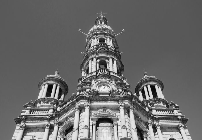 Architecture Building Exterior Built Structure Low Angle View Religion Place Of Worship Outdoors Spirituality History Sky No People Dome Statue Day Travel Destinations