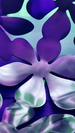 Metal Metallic Brass Messing Flower Blumen Pattern Muster Pattern, Texture, Shape And Form Patterns & Textures