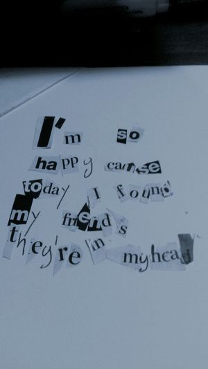 Nirvana Lithium Lyrics Collage
