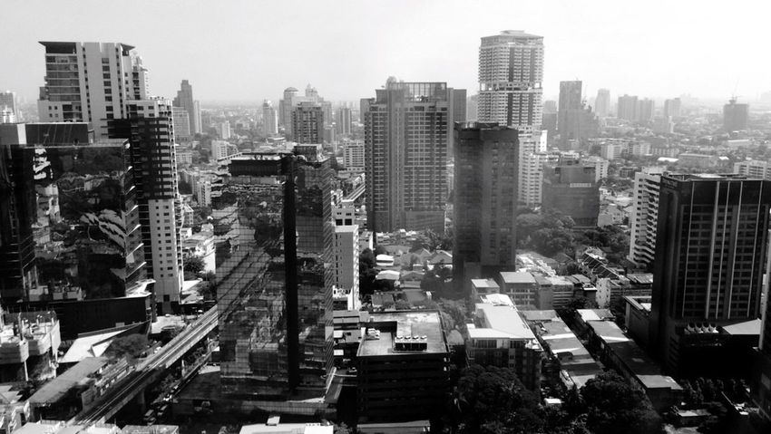 Spotted In Thailand Bangkok Cityscapes City Life Thailand Blackandwhite Urban Landscape