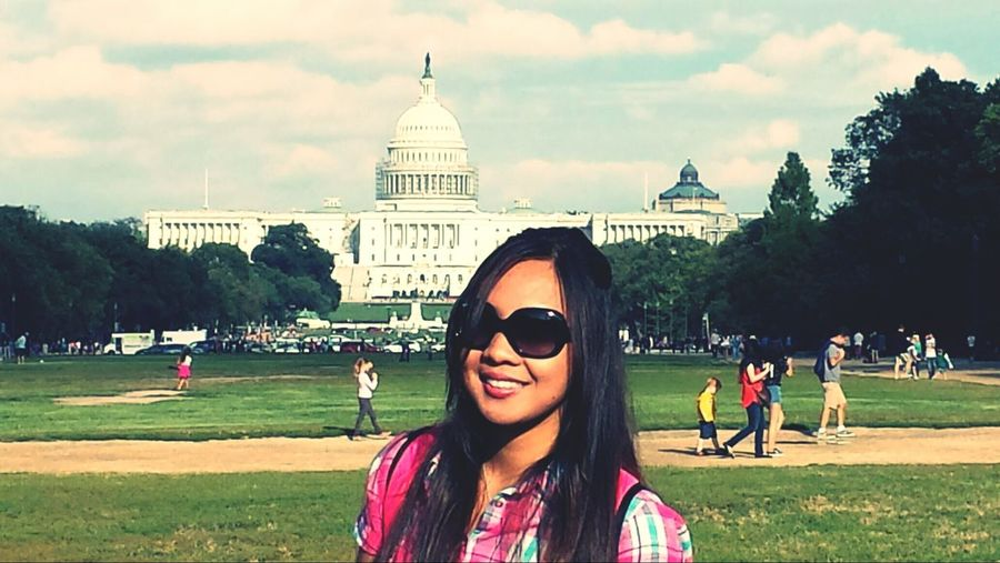 On Tour Beutiful Day US Capitol Building Godblessamerica