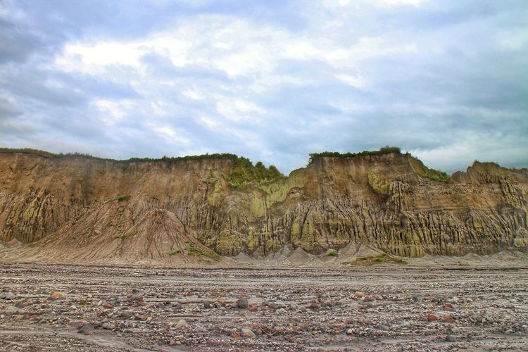 Lahar Philippines Pinatubo Pinatubocraterlake Volcanic Lake Volcanic Landscape Volcano