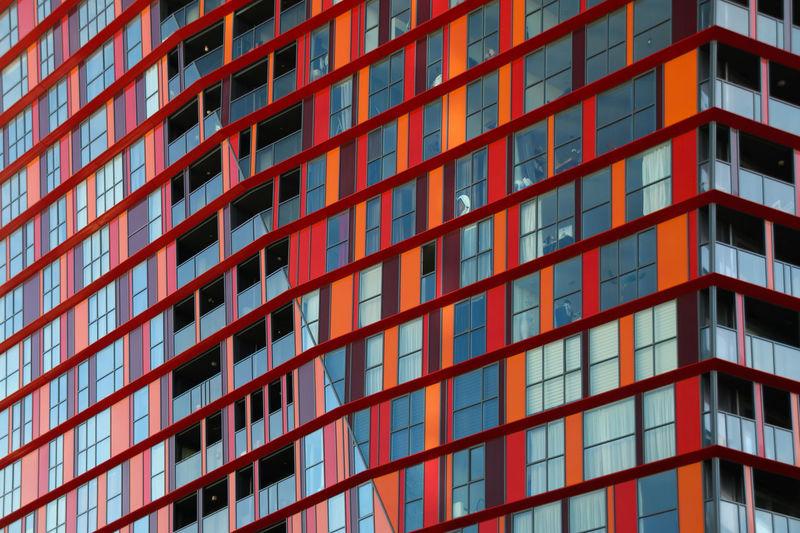 Boats Brick City Modern Architecture Rotterdam Water