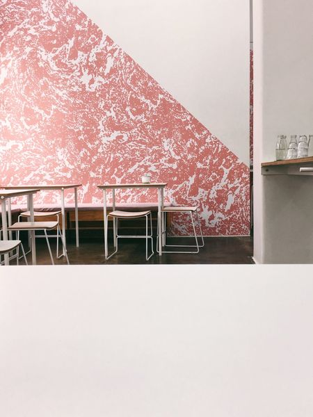 Colour and line 1 Architecture Coffee Shop