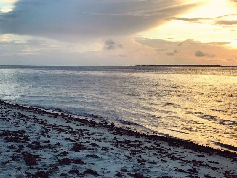 Sea Beauty In Nature Scenics Water Tranquility Sunset