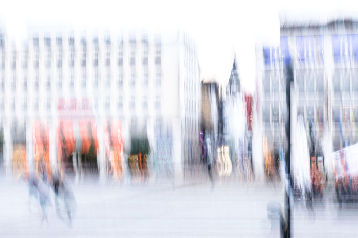 Kennedyplatz, Essen Abstract Photography City Life Cityscape Experimental Gebäude Architektur Abstract Architecture Blurred Motion Blurred Movement Blurry Building Exterior Built Structure Business City City Life Day Experimental Photography Large Group Of People Long Exposure Motion Outdoors People Speed White Colour