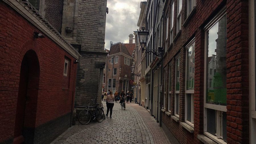 Amsterdam Amsterdamcity Ams Brick Wall Architecturelovers Architecture Old Buildings Small Street Discovery Walking Around