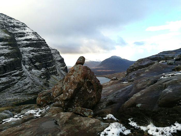 Fear fist Hiking Mountain