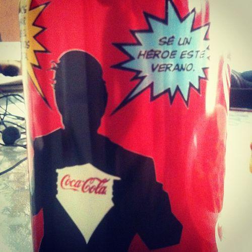 Se un heroe este verano (: Cocacola Verano Refresco Refreshing instafood