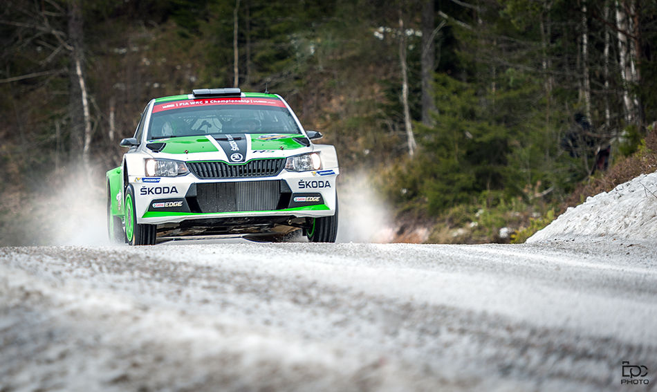Transportation Forest Outdoors Tree Highway Day Landscape Driving Adrenalin Cold Temperature Competition Rallycar Winter Rally Norway Motion Sweden Rally 2016 Skoda Rally Sweden