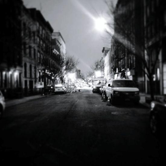 East Village gas blast Manhattan New York Explosion Disaster NYC Street Ruins Blast Eastvillage NY