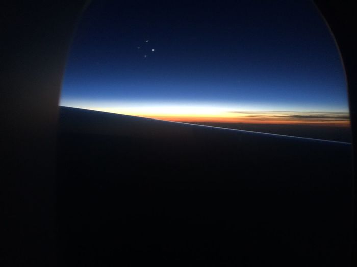 From An Airplane Window Sunrise Hello World Flying Ending Of Trip Nuple Chunsumonpics