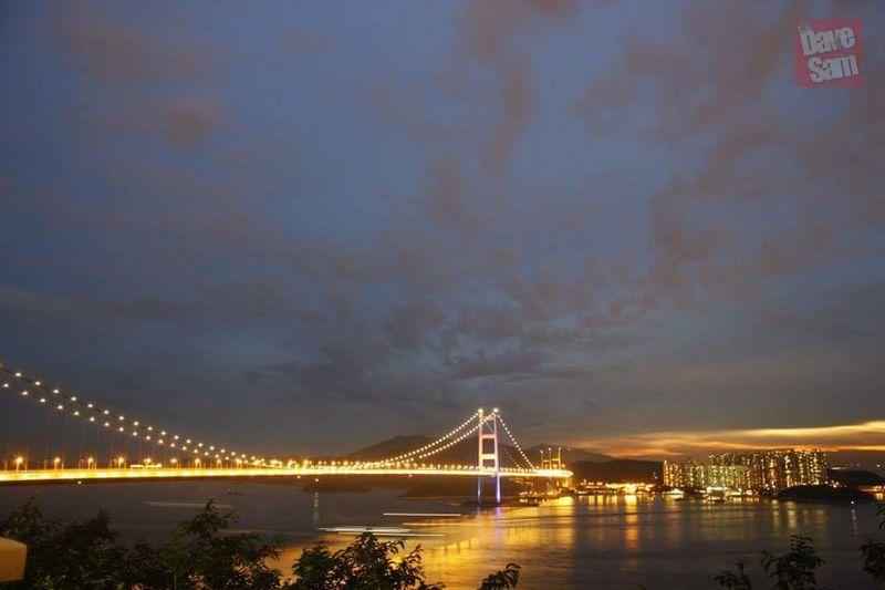 Tsing Ma Bridge Hk Nites HongKong Nights Of Hong Kong