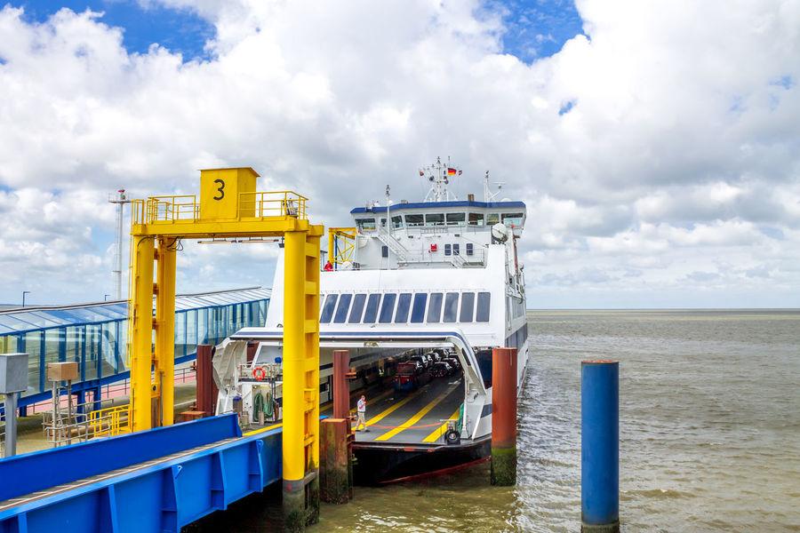 Dagebüll, Germany Baltic Sea Dagebüll Ferry Ferryboat Transportation Boat Germany Ocean Ship Shop Verkehr