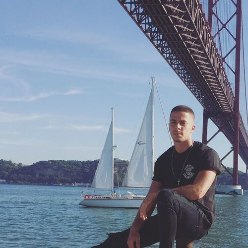 Lisbon Portugal Sea Ocean Tejo River Men Mensfashion Sailing Vacations October Summer 2016
