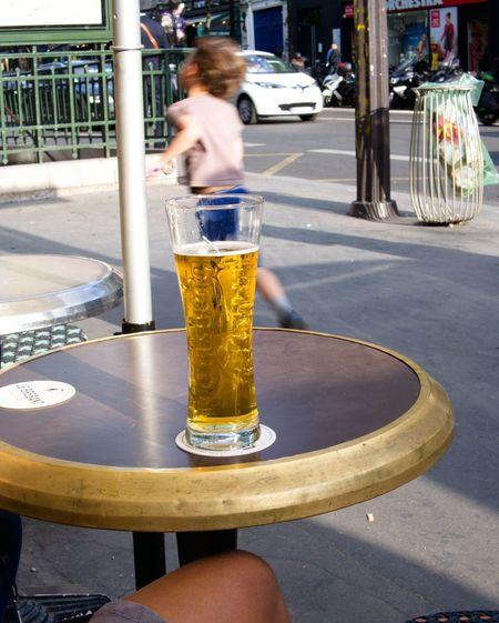2 Days Ago Beer Time Bistrot Car City Day Drink Evening In Paris Evening Sky Food And Drink Gran Incidental People Land Vehicle Lifestyles One Person Outdoors People In The Background Real People Refreshment Relaxing Time Street Streetphotography Table Transportation Women