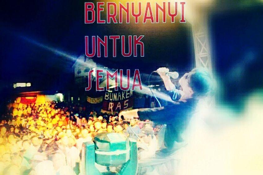 Perform @binekaciputat indonesia :) Semangat