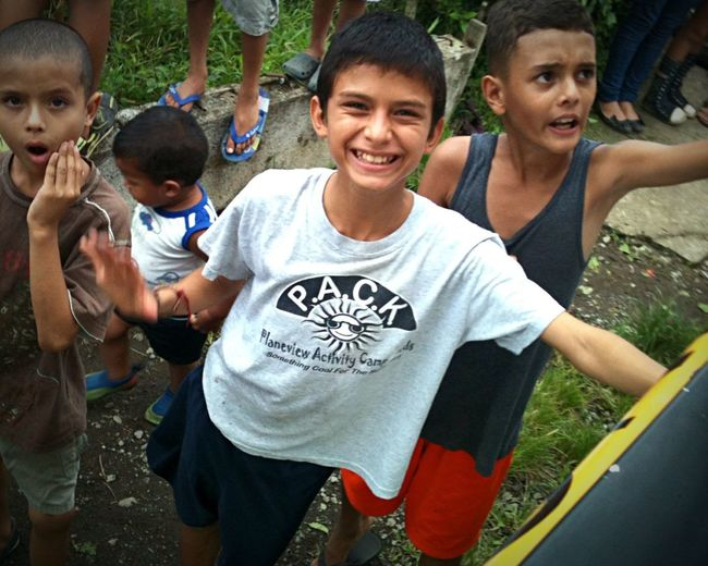 The Portraitist - 2015 EyeEm Awards Children Costa Rica Mission Trip