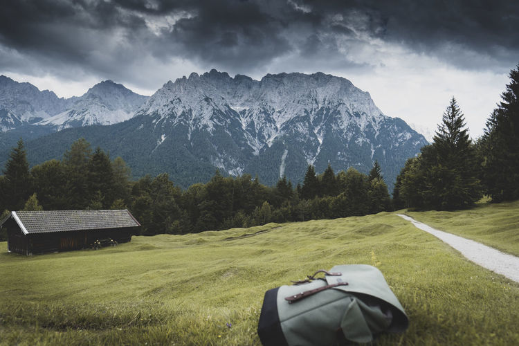 Incoming Storm Mountain Scenics - Nature Beauty In Nature Sky Mountain Range Landscape Outdoors Mountain Peak Storm Bad Weather Incoming Hiking Alps Bavaria Travel Travel Photography Backpack