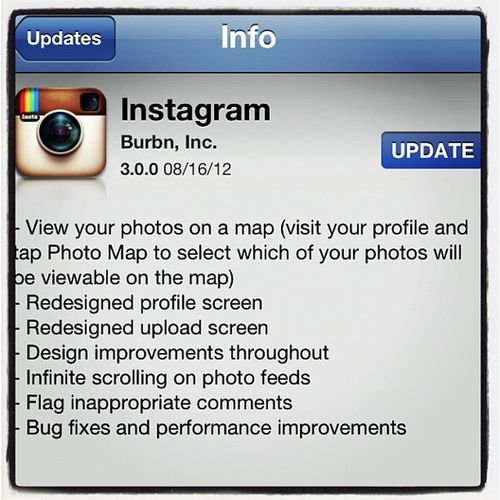 Instagram 3.0.0 is out! Photo Map now included. Extraextra Fun IPhoneography Iphoneonly Instagram Update Released Instamood Instagood Webstagram Gmy Socialmedia Instagramupdate Instragramhub Newversion
