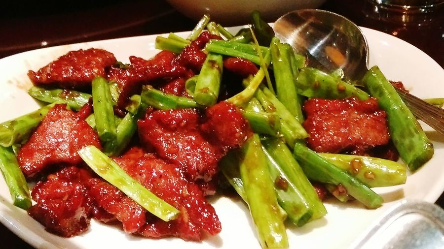 Today's menu😊 Beefsteak Spicy One Dinner With Friends Kuwait Taking Photos Enjoying Life