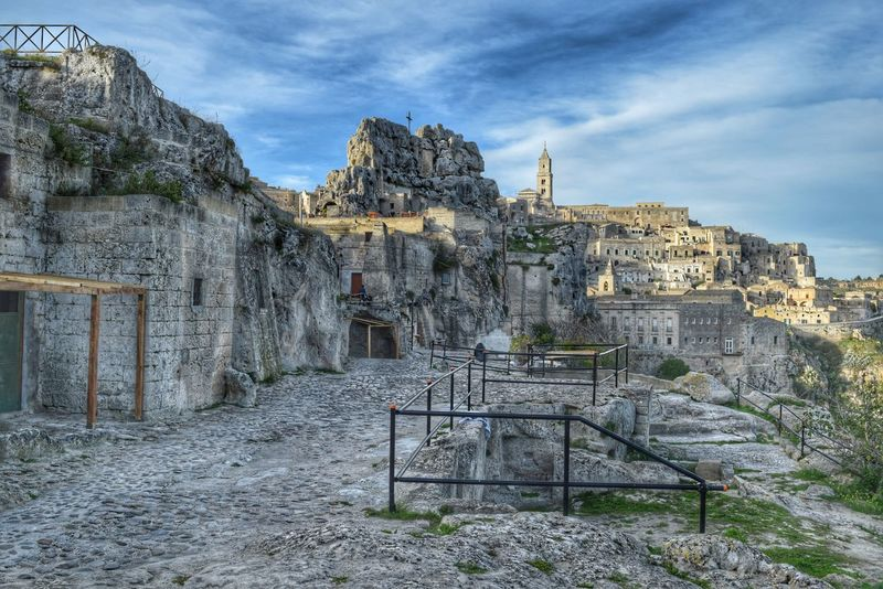 Matera Italia Basilicata, Italy  UNESCO World Heritage Site Matera - Capitale Della Cultura Italy Matera - Italia Matera2019 Ancient Civilization Ancient History Sassimatera Caves Street Ancient Architecture Built Structure Architecture Ancient Travel Outdoors Matera Italy Old Town Cathedral History Travel Destinations Town