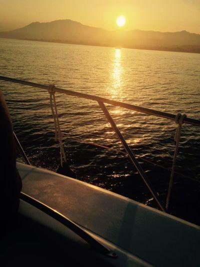 Puerto Banus Sunset Marbella