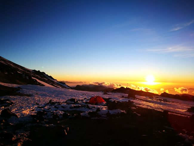 sunset at 5400 m Altitude Tent Cold Expedition SevenSummits Aconcagua Sunset Sky Mountain No People Scenics Mountain Range Landscape Outdoors Urban Skyline Nature