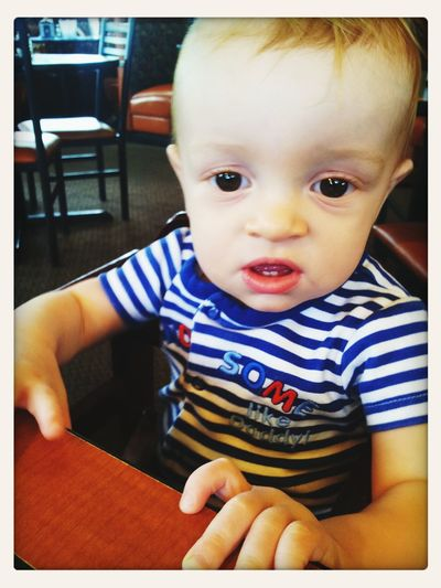Having yum yums Love My Son