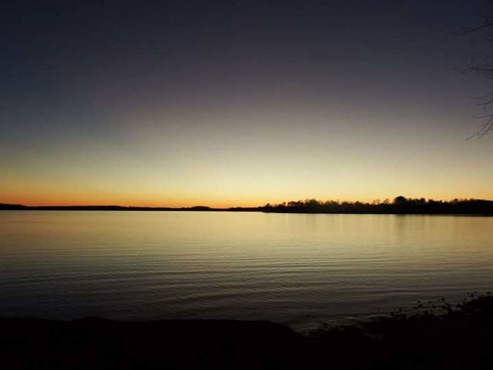 Lake Sunset Summer Exploratorium Water Sunset View Into Land Clear Sky Lake Silhouette Reflection Awe Winter Sky