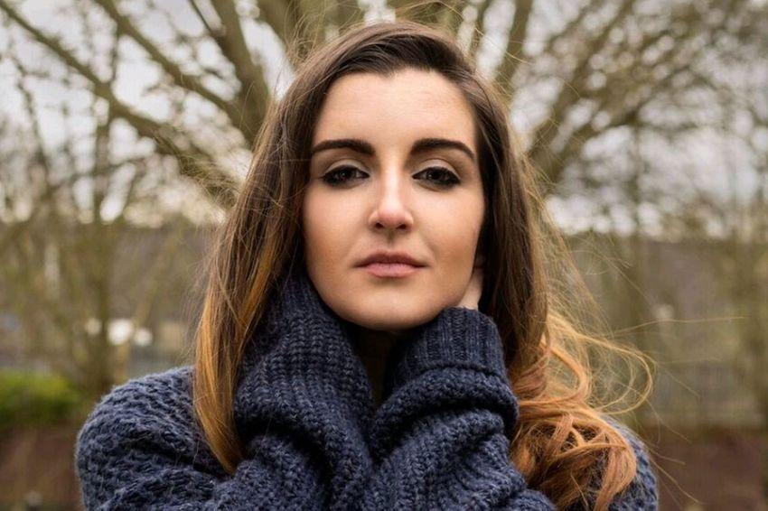 Headshot Portrait Outdoors Young Women Model Birmingham Jewelleryquarter