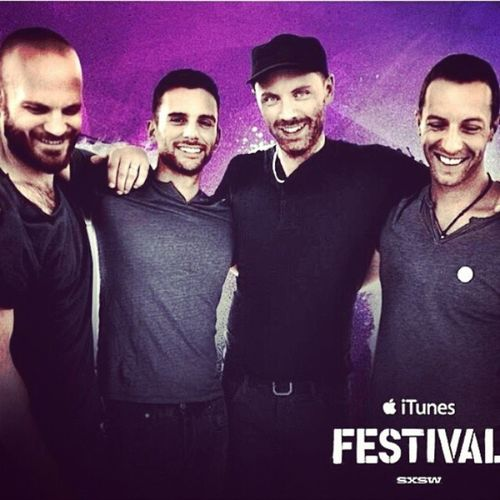 Comienza @ColdPlay en @itunesfestival ITunesFestival 2014 LaVozDeChile