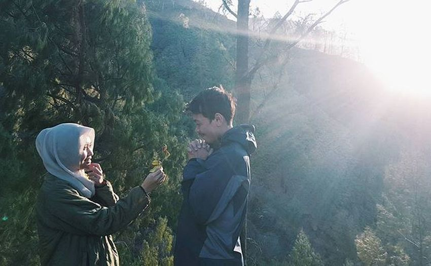 We found wonderland. You and I got lost in it. -tayswift Peopleinframe Ijen Couple Wonderland Holidaygetaway Imbadathashtags
