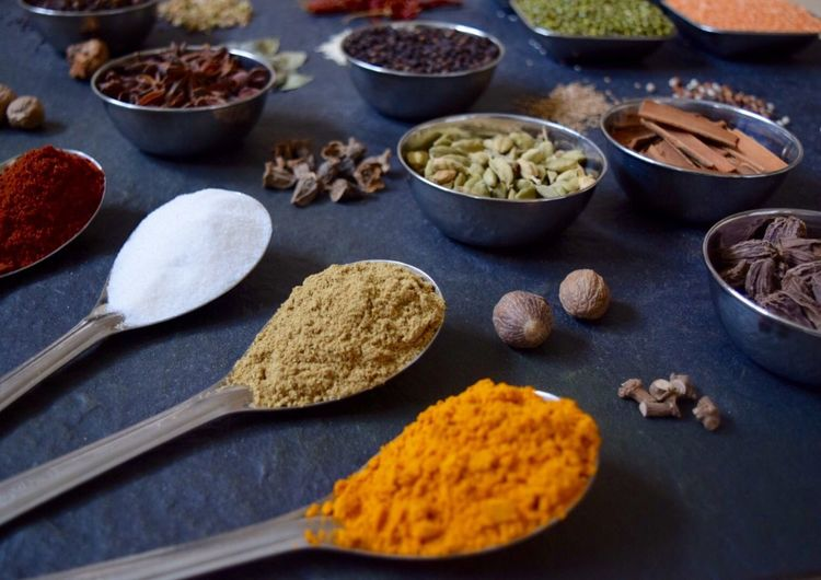 Spices Of The World Spices Spice Ingredients Cooking Flavour Artistic Photo Art Culinary Cuisine Gourmet Cooking Indianspices Colors