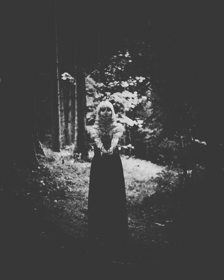 Melancholia Ninoori Blackandwhite Woodlove Female Nostalgia Romantic Farn