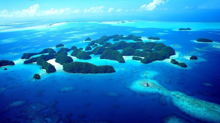 Sky Blue EyeEm Best Shots Trip at Rock Islands in Palau