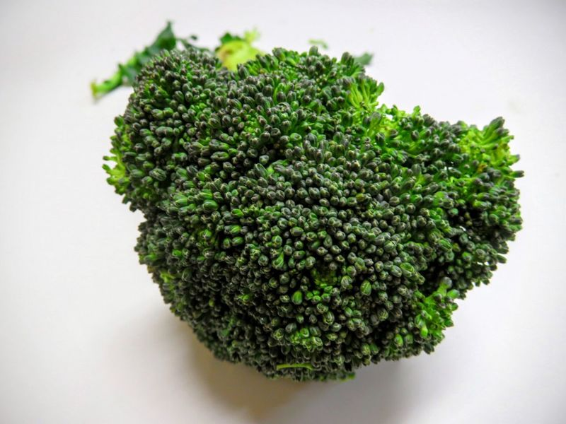 Broccoli crowns 13520992 Green Color Freshness Food And Drink Vegetables Broccoli