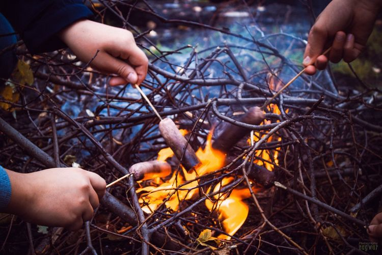 Пикник Fire - Natural Phenomenon Flame Heat - Temperature Burning Human Body Part Human Hand Outdoors Close-up Adults Only Day Adult People One Person Bonfire Fire Pit Nature One Man Only Finding New Frontiers Traveling Home For The Holidays