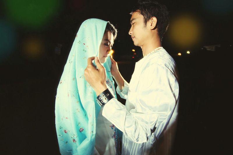 Adie & Yuli Wedding Photography Couple Color Portrait Portofolio