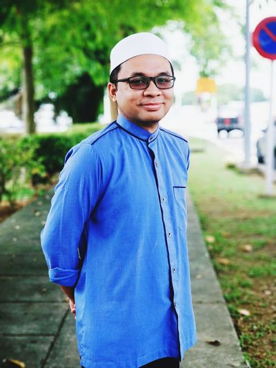 ustaz Adib Sunglasses Day One Person One Man Only Adult Outdoors People