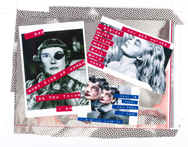 Art Collage Collage Art & Cocktails Social Club Dymo Photo Photography Punk Queer