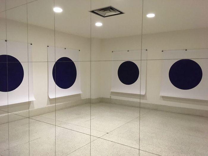Dots Design Blue
