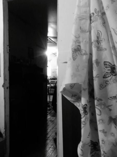 Desde dormitorio Interior Views Barroco Austral Black And White Photography
