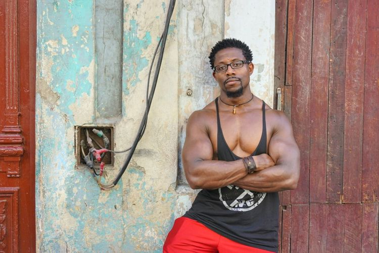 One Person One Man Only Only Men Portrait Standing Outdoors Real People Travel Destinations Streets Of Cuba Fotogeniksyl Lifestyles Traveling Photography Colors Of Life Cuban Style Street