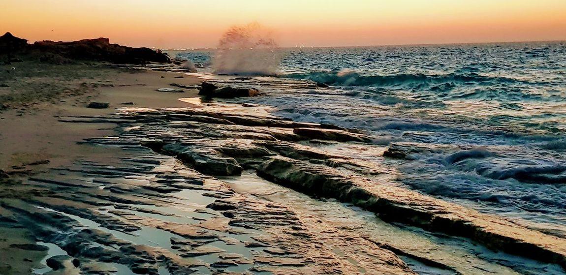 Water Hot Spring Power In Nature Sunset Sea Crash Motion Steam Beach Wave Crashing Coast Sand Horizon Over Water Rushing Tide Sandy Beach Geology Lava Geyser Shore Hooded Beach Chair