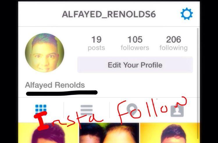 Follow me on Instagram... ;)