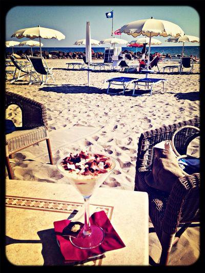 One of my last days at the beach, great tiramisù Enjoying The Sun Sunshine Relaxing Sea